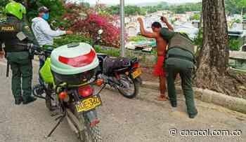 Policía incrementa operativos por toque de queda en Bolívar - Caracol Radio