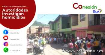 Un homicidio en Ciudad Bolívar y otro en Andes en las últimas horas - ConexionSur