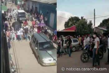 En el sur de Bolívar violaron la cuarentena para despedir a jefe del ELN - Noticias Caracol