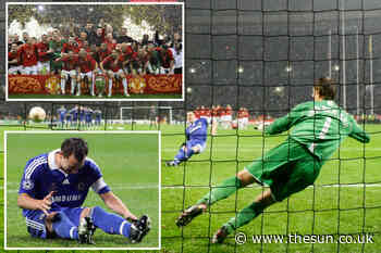 When Chelsea captain John Terry slipped to help Man Utd to Champions League glory and spare Cristiano - The Sun