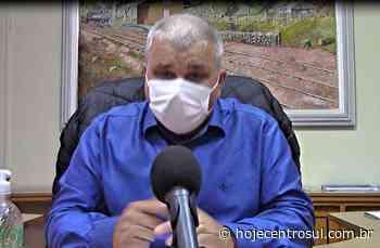 Prefeito de Irati faz resumo da situação atual do coronavírus - Hoje Centro Sul