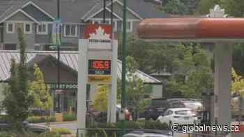 Metro Vancouver drivers brace for another jump in gas prices | Watch News Videos Online - Globalnews.ca