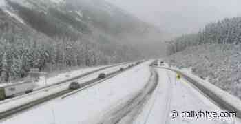 Snowy forecast on highways linking Metro Vancouver and BC Interior today | News - Daily Hive