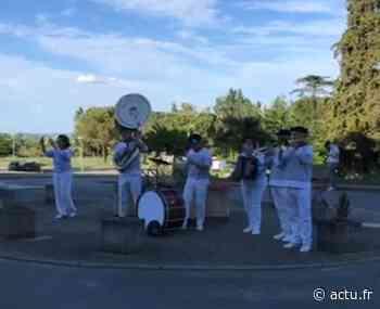Gers. Malgré l'annulation du festival des bandas de Condom, le d'Artagnan Band pense aux soignants - actu.fr