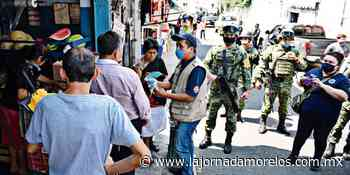 Llevan a cabo el Operativo Quédate en casa en Jojutla - La Jornada Morelos