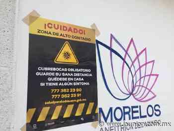 """Jojutla es zona de """"alto contagio"""" de covid-19 - Unión de Morelos"""