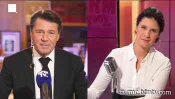 Christian Estrosi, maire de Nice, était l'invité d'Apolline de Malherbe, sur RMC et BFMTV ce 22 mai - BFMTV.COM