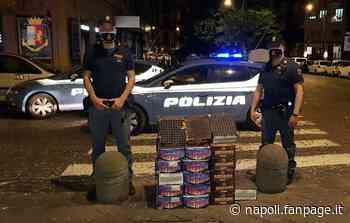 Santa Lucia, fuochi d'artificio illegali per il compleanno della bimba di 2 anni, denunciati - Napoli Fanpage.it