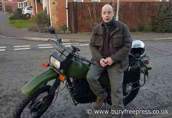 'Labour of love' restored army motorbike stolen - Bury Free Press