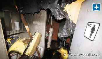 Feuer In öffentlicher Toilette In Rastede: Ein Brand mit teuren Folgen - Nordwest-Zeitung