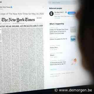 Live - Meer dan 1.100 nieuwe overlijdens in VS, New York Times draagt voorpagina op aan coronadoden