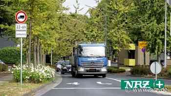 Der Schwerlastverkehr bleibt in Xanten im Fokus - NRZ