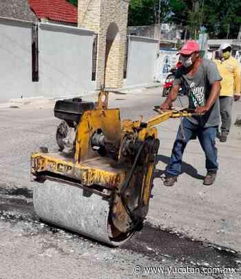 En marcha mejoras viales en calles de Oxkutzcab - El Diario de Yucatán