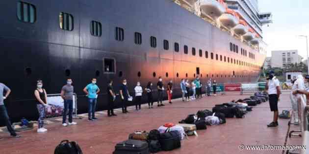 Ya son 674 tripulantes repatriados de crucero en Puerto Vallarta - EL INFORMADOR