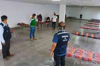 Coronavirus: hoy empezó a funcionar centro de aislamiento temporal en Hualmay - Agencia Andina