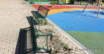 Vandali in azione al Parco Ardito Desio di Udine - Il Friuli