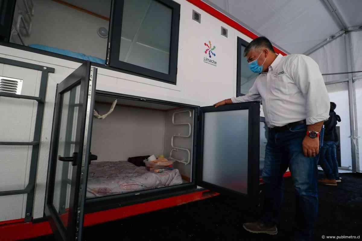 Los novedosos albergues móviles en Limache para personas en situación de calle - Publimetro Chile