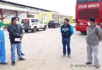 Obligan a un bus que llegó con pasajeros hasta Puerto Quijarro a retornar a Santa Cruz - EL DEBER