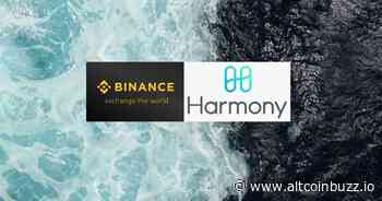 Binance Savings Incorporate Harmony One - Product Release & Updates - Altcoin Buzz