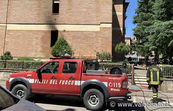 Poggibonsi incendio Via Della Ferrovia Appartamento Vigili Del Fuoco - Valdelsa.net