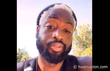 Video: Dwyane Wade Goes Blonde as He Flaunts Interesting New Hairstyle - Heat Nation