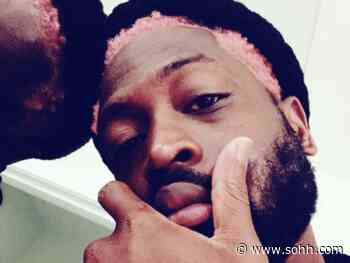 Dwyane Wade Shares A Sneak Peek At His New Pink Hair – - SOHH