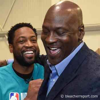 Dwyane Wade Says 'If There Were No Michael Jordan There Would Be No Me' - Bleacher Report