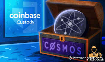 Coinbase Custody Now Supports Cosmos (ATOM) Staking - BTCMANAGER