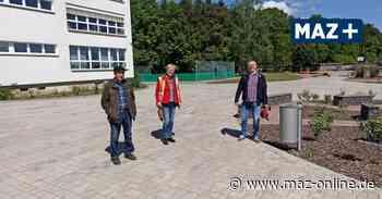 Wittstock - Außenanlagen an Schule in Wittstock umgestaltet - Märkische Allgemeine Zeitung