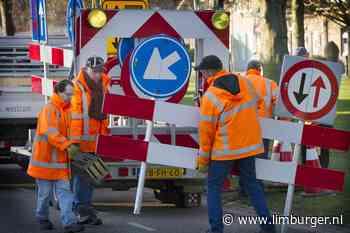 Wegafzetting Schinnen wegens rioolwerkzaamheden - De Limburger
