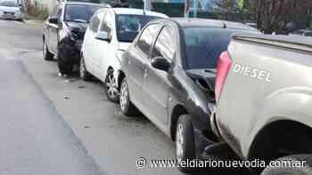 Violento choque en cadena en Ushuaia - El Diario Nuevo Dia