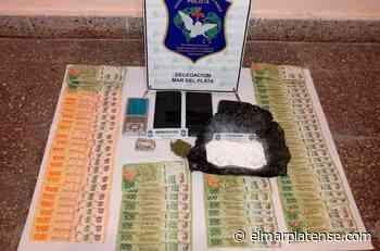 Golpe a la droga: encuentran cocaína y marihuana en allanamiento en Miramar - El Marplatense