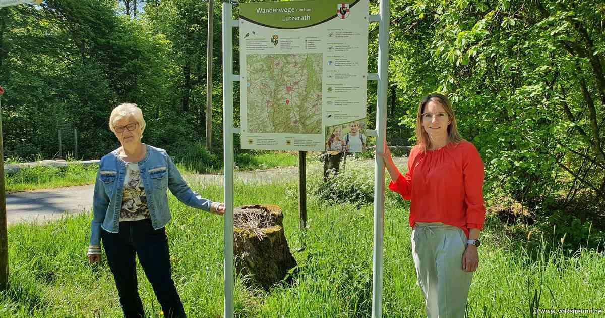 Neue Wanderwege und neuer Wanderflyer für Lutzerath - Trierischer Volksfreund