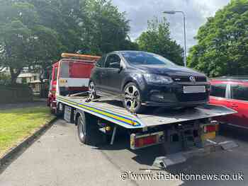 Car in near miss with man during Bolton police pursuit - The Bolton News