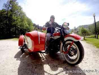 Tourisme - Une virée en side-car avec le Cantalien Paul Fageol - La Montagne