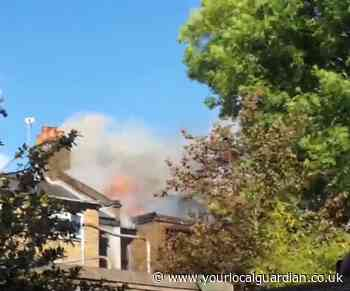 Watch: Properties destroyed in Tooting house fire