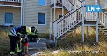 Feuerwehreinsatz - Feueralarm im Beach Motel in Heiligenhafen – Saunaofen in Brand - Lübecker Nachrichten