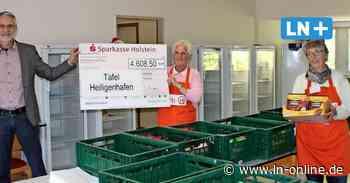 Spende - Firma aus den USA hilft der Tafel in Heiligenhafen - Lübecker Nachrichten