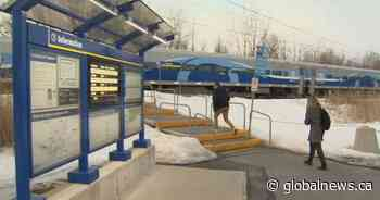 South shore commuters rejoice as Candiac train back on track - Globalnews.ca