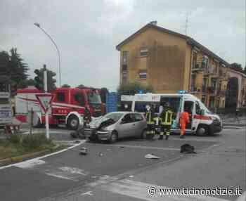 Grave incidente a Inveruno in via Magenta: motociclista in codice rosso - Ticino Notizie