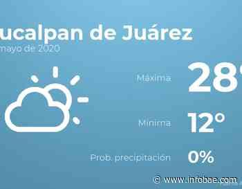 Previsión meteorológica: El tiempo hoy en Naucalpan de Juárez, 24 de mayo - infobae