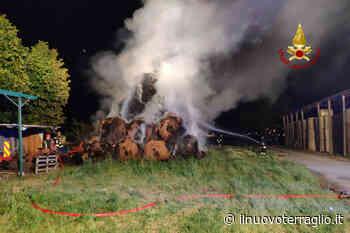 Incendio di rotoballe a Favaro Veneto - Il Nuovo Terraglio