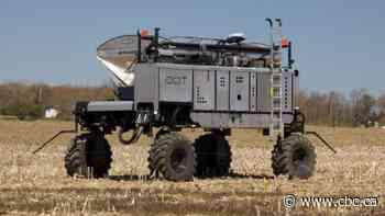 Robo farm: AI machine 'DOT' comes to an Ontario farm for the first time