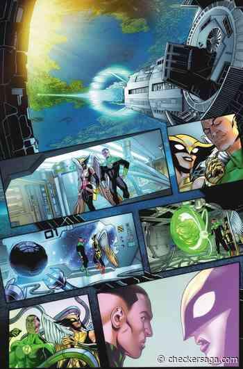 'Green Lantern' anniversary to honor Dwayne McDuffie by revisiting John Stewart and Hawkgirl's romance - Checkersaga