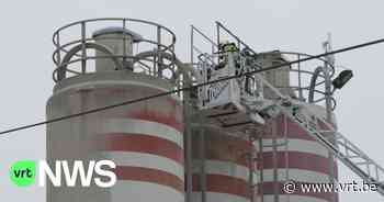 Explosie in cementsilo in Rijkevorsel: omgeving zit onder het stof - VRT NWS