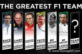 The Autosport Podcast: The Greatest F1 Team - Team Principal