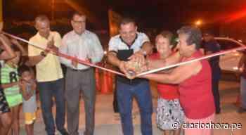 Ponen al servicio de la población últimas cuadras del Jr. Urubamba - DIARIO AHORA