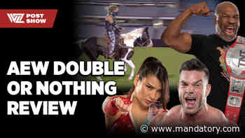 AEW Double Or Nothing: High, Lows, & Ridiculousness (WZ Post Show)