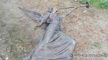 Sarezzo, ladri vandali contro gli angeli di bronzo al cimitero - QuiBrescia.it