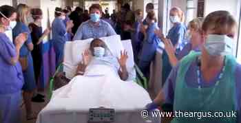 Eastbourne couple beat coronavirus and leave hospital
